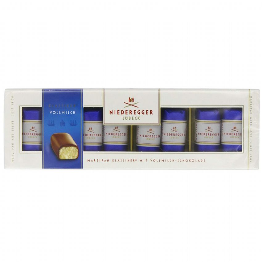 Milk Chocolate Marzipan Mini Loaves NIEDEREGGER 100g